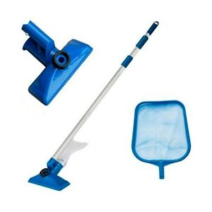 Intex Swimming Pool Maintenance Cleaning Kit - Skimmer Net and Vacuum