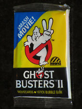 GHOSTBUSTERS 2 Regina Bubble Gum Movie Cards sealed pack 1989 GHOST BUSTERS II