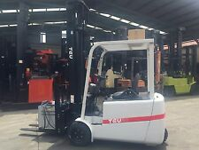 TEU Electric Forklift  2T Cascade Side Shift Container Mast 6.5m Lift $25999+GST