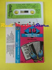 MC 16 TANGHI VALZER MAZURKE E... VOL. 6 BATTAGLIERO 1988 DUCK no cd lp dvd vhs