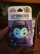 Lip Smacker Disney Tsum Tsum - Maleficent - Blackberry Flavor - 0.26oz. Sealed
