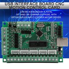 Carte de contrôle de mouvement Mach3 CNC Pour Gravure Carte d'interface USB