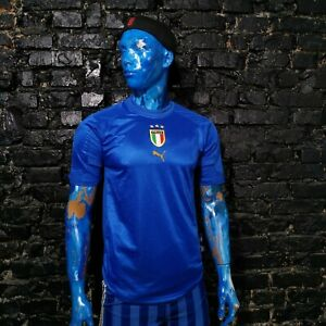 Italy Team Jersey Home football shirt 2004 - 2006 Puma Maglia Mens Size S