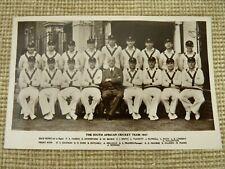 Vintage Post Card South African Cricket Team 1947 - WEG Series | Thames Hospice