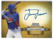 Jamie Jarmon Auto 2012 Topps Bowman Sterling Rangers