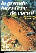 LA GRANDE BARRIERE DE CORAIL - Bernard Gorsky 1969 - Plongée sous-marine