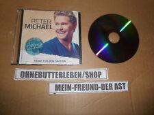 CD Pop Peter Michael - Keine halben Sachen (1 Song) Promo ELECTROLA