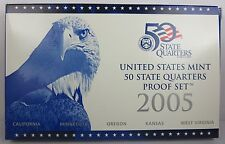 Proof 50 State Quartes Set 2005-S in original package