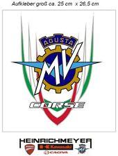 MV AGUSTA Autocollant f4 BRUTALE MV-Corse Logo 25 cm