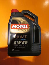 Motul Sport 5W-50 Engine Oil - 5 Litres