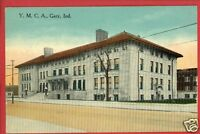 GARY INDIANA IN YMCA BUILDING  POSTCARD