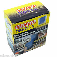 72 Pack Bio-Blue Portable Toilet Deodorizer Chemicals Camping Survival Emergency