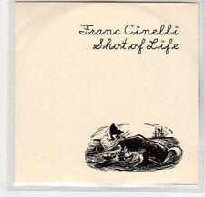 (EF298) Franc Cinelli, Shot of Life - 2013 DJ CD