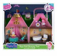 Peppa Pig Fest Glamping Tienda Parque Infantil Con Luces & 2 Acción Figuras Set