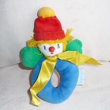 Doudou Hochet Clown Moulin Roty