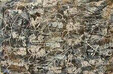 Modernist LARGE ABSTRACT PAINTING Expressionist MODERN ART NEW ELEMENTS FOLTZ
