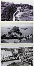 Lot Of 3 Antique Original Postcards - Biarritz, France