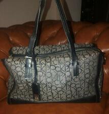 Calvin Klein Handtasche Damen Umhängetasche Bag Damentasche Baumwolle