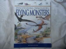 DISCOVERING DINOSAURS FLYING MONSTERS  EDUCATIONAL BOOK - BRAND NEW