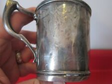 CIVIL WAR PERIOD DATED 1863 COIN SILVER - PRESENTATION CUP  #5