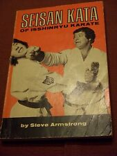 VINTAGE 1973 Seisan Kata of Isshinryu Karate by Steve Armstrong 1st ed