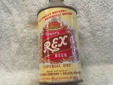 Fitger's Rex Beer Cone Top - Nmt 4.9% Variation