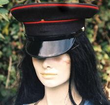 55 S PEAKED CAP/HAT BRITISH ARMY Royal Engineers Military VISOR festival bikers