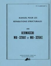 AERONAUTICA AERMACCHI MB326 KT KZ 1979 Structural Repair (franc) Manual - DVD