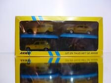 ARTEC SPAIN 4X DUTCH ANWB - 2 CV VW GOLF HARLEY RENAULT 4 - 40 YEARS RARE