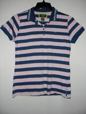 Women's US POLO ASSN Multi Color Stripes Short Sleeve Polo Shirt XL