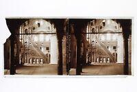 Costantinopoli Moschea Turchia Placca Da Lente ( Rotto) C8 Stereo Vintage