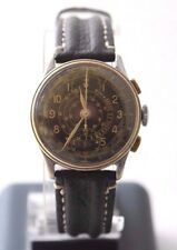 Antique Military BOVET PRIMA WWII Pilots Chronograph Wrist Watch Telemetre 17J