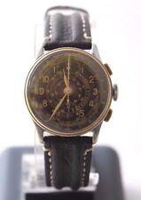 Antique Military BOVET PRIMA WWII Pilots Chronograph Wrist Watch Telemetre 17J