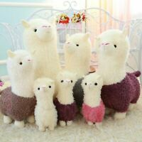 Lovely Alpaca Llama Plush Toy Animal Stuffed Dolls Soft Sheep Gift For Kids Girl