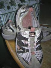 Womens Shoes EasySpirit Sz7M BrnTan ClosedStretchLaces Explore24Athletic LikeNew