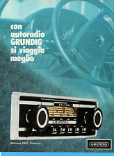 (AM)EPOCA974-PUBBLICITA'/ADVERTISING-1974-GRUNDIG WELTKLANG 4800 STATOMAT