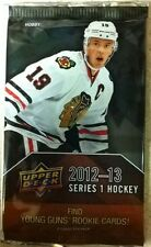 2012-13 (2013) Upper Deck Series 1 Hockey HOBBY Pack 8 Cards