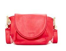SEE BY CHLOE $450 RED LEATHER LENA FLAP CROSSBODY HANDBAG BAG