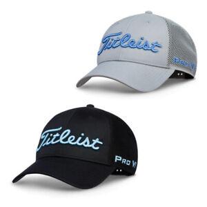 NEW Titleist Golf Tour Performance Mesh Trend Cap - Adjustable - Choose Color