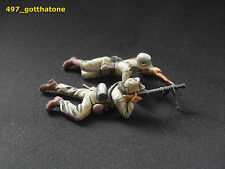 AIRFIX 1/32 professionally painted German Afrika Korps MG34 team ww2.