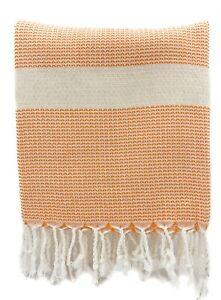 Turkish Towel | Bamboo Peshtemal | Beach Towel | Throw Blanket | Turkish Blanket