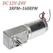 Dc 12v24v Turbo Worm Geared Motor 868 Tsiny Motor With Gearbox Diamter 8mm