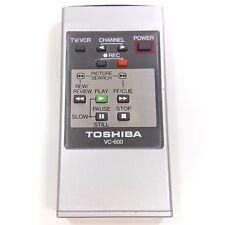 Toshiba VC600 Remote Control for Toshiba V-600C Beta VCR