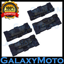 Deluxe Extreme 4pcs BLUE Roll Bar Grab Handle fit 87-16 Jeep Wrangler JK TJ YJ C