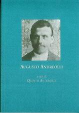 Augusto Andreolli. Corrispondenza 1915 - Antonelli Q. cur.