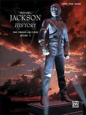 Michael Jackson: History Past Present & Future Book 1 Piano/Vocal/Chords, Jackso