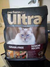 SEALED PERFORMATRIN ULTRA SENIOR RECIPE 2.5lb BAG CAT DRY FOOD GRAIN GLUTEN FREE