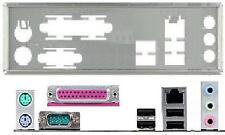 ATX diafragma i/o Shield asus m4n68t-pro p5qpl-se #85 Io nuevo backplate bracket New