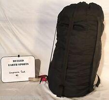 US Military Issue Sleeping Bag Compression Stuff Sack MSS USGI GRADE 2 Used Cond
