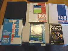 Mixed Lot Of School Office Note Book Paperfolderetc Awesome Lot